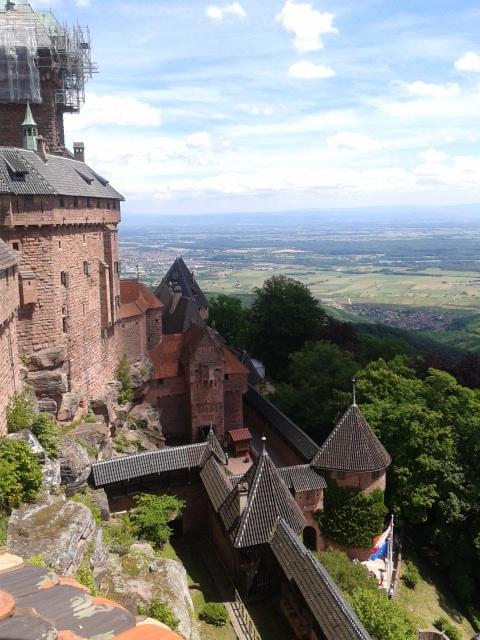Chateau de Koenigsbourg, Alsacia