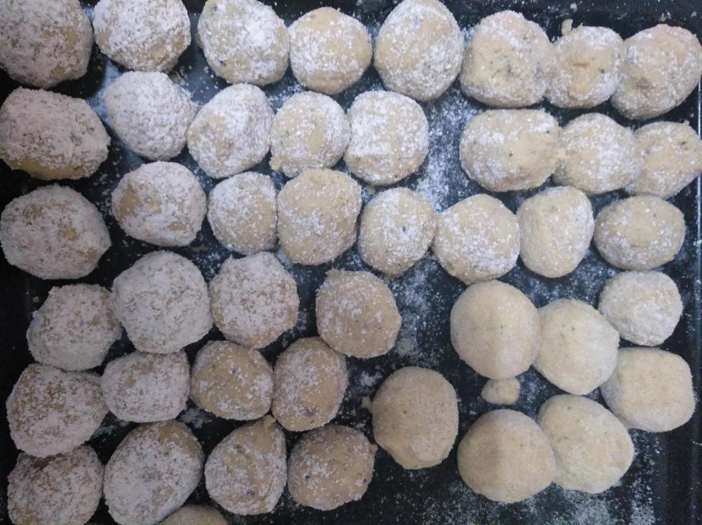 Bolas de falafel